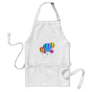 Colorful Hot Air Balloons Adult Apron