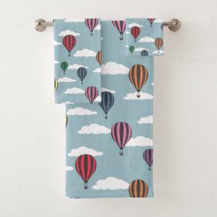 Hot Air Balloon Bathroom Accessories, Hot Air Balloon Bathroom Decor