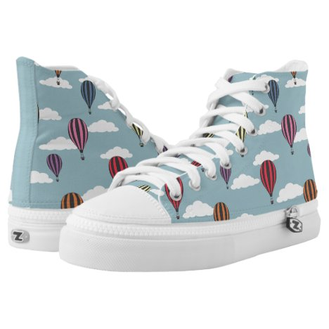 Colorful hot air balloons High-Top sneakers