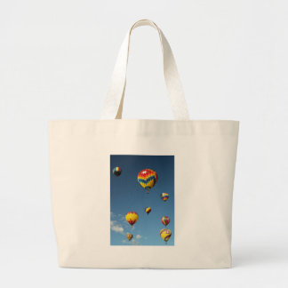 Colorful Hot Air Balloons in the Sky Tote Bag