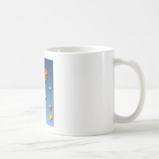 Colorful Hot Air Balloons in the Sky Coffee Mug