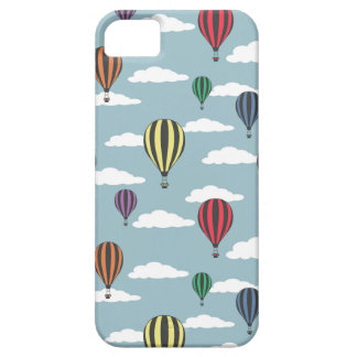 Colorful hot air balloons iPhone SE/5/5s case