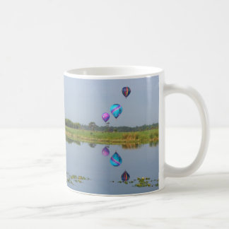 Colorful Hot Air Balloons photographic image Coffee Mug