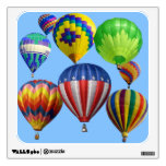 Colorful Hot Air Balloons Wall Sticker
