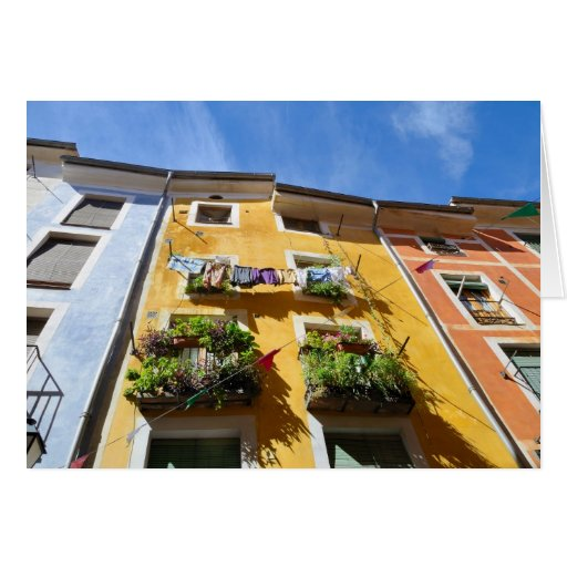 Colorful houses of Cuenca, Spain Cards
