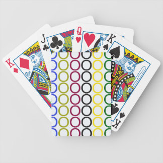 Colorful Hugs Bicycle Playing Cards