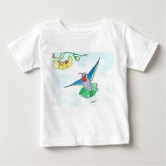 Colorful Hummingbird Baby Fine Jersey T-Shirt