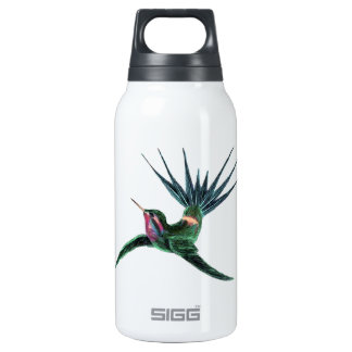Colorful Hummingbird Insulated Water Bottle