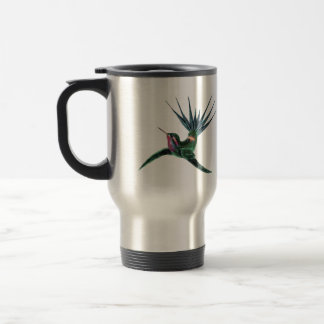 Colorful Hummingbird Travel Mug