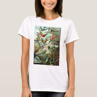 Colorful Hummingbirds by Ernst Haeckel T-Shirt