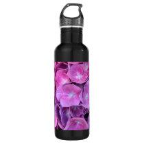 Colorful Hydrangea Flowers Stainless Steel Water Bottle