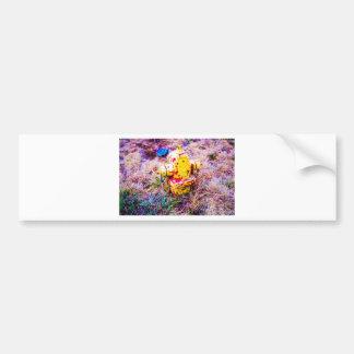 Colorful Hydrant Bumper Sticker