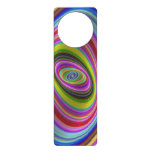 Colorful Hypnosis Door Hanger