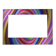 Colorful Hypnosis Magnetic Frame