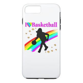 COLORFUL I LOVE BASKETBALL DESIGN iPhone 8 PLUS/7 PLUS CASE