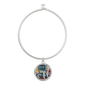 Colorful I Would Stray Away Charm Bracelet