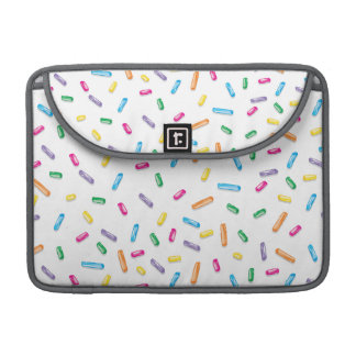 Colorful Ice Cream Candy Sprinkles Sleeve For MacBooks