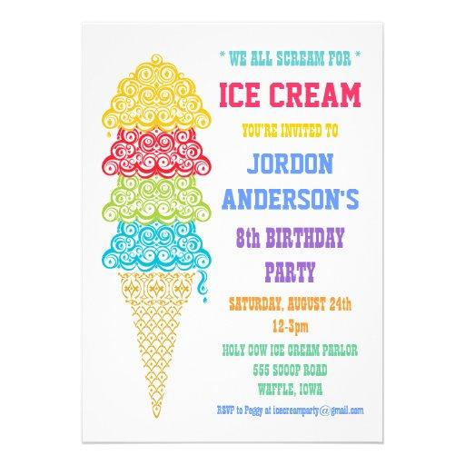 ... Clip Art , Vintage Ice Cream Social , Ice Cream Social Template