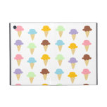 Colorful Ice Cream Cones iPad Mini Covers