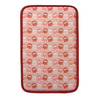 Colorful Ice Cream with Mustaches Sleeve For MacBook Air