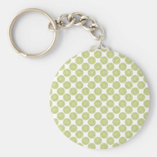 Colorful Ice Pops Basic Round Button Keychain