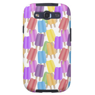 Colorful Ice Pops Samsung Galaxy S3 Covers