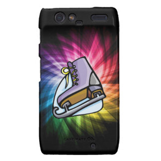 Colorful Ice Skate Motorola Droid RAZR Covers