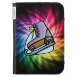 Colorful Ice Skate Kindle Cases