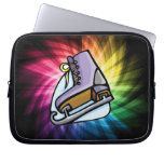 Colorful Ice Skate Laptop Computer Sleeves