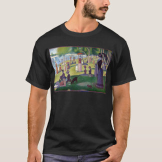 Colorful Iconic Georges Seurat La Grande Jatte T-Shirt