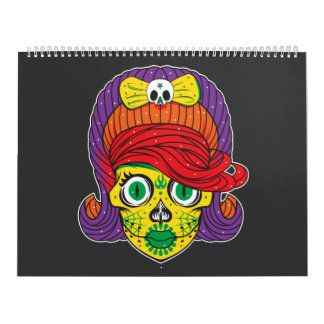 Colorful Illustrations Calendar
