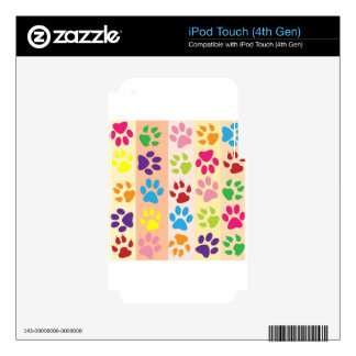Colorful Image iPod Touch 4G Skins