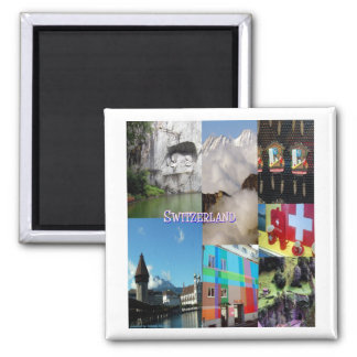 Colorful Images of Switzerland by Celeste Sheffey Refrigerator Magnets