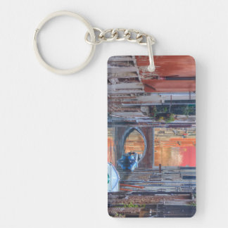 Colorful Impression Of Venice Italy Keychain