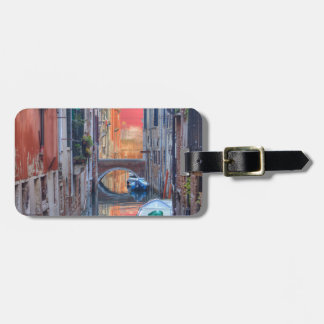 Colorful Impression Of Venice Italy Luggage Tag