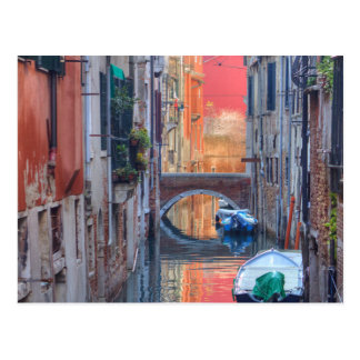 Colorful Impression Of Venice Italy Postcard