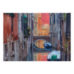 Colorful Impression Of Venice Italy Poster
