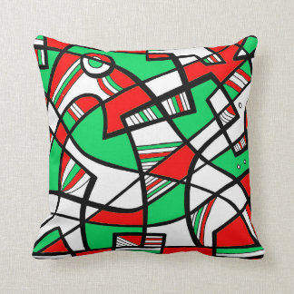 Colorful Incredible Fantastic Majestic Throw Pillow