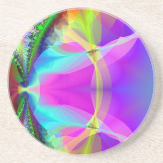 Colorful Inner Circle Drink Coaster