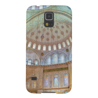 Colorful interior domed ceiling of Blue Mosque Cases For Galaxy S5
