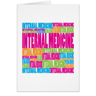 Colorful Internal Medicine Card