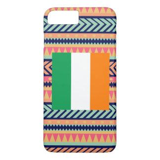 Colorful Ireland Flag Box iPhone 7 Plus Case