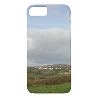 Colorful Irish Village Scene. iPhone 7 Case