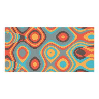 Colorful irregular shapes card