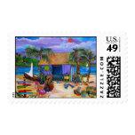 colorful Island Postage
