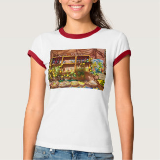 Colorful Italian Market Stall T-Shirt