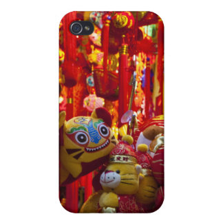 Colorful items for sale in a shop in Hong Kong Cover For iPhone 4