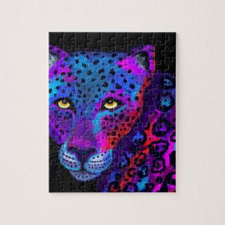 Colorful Jaguar Jigsaw Puzzles