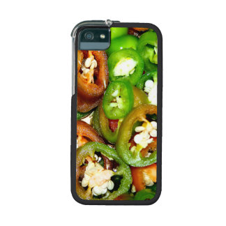 Colorful Jalapeno Pepper Slices iPhone 5 Cover