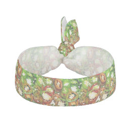 Colorful Jalapeno Pepper Slices Hair Tie